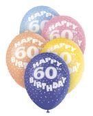 """Latexové balónky """"60"""""""