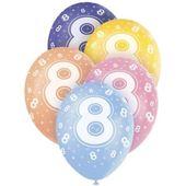 """Latexové balónky """"8"""""""