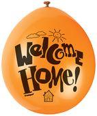 Balónky Welcome Home
