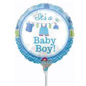 Mini fóliový balónek It's a baby boy