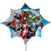 Mini fóliový balónek Avengers star