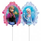 Mini fóliový balónek Frozen zrcadlo