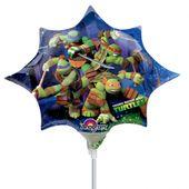 Mini fóliový balónek Ninja Star