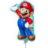 Mini fóliový balónek Super Mario
