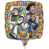 Mini foliový balónek Toy Story - Woody & Buzz