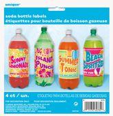Nálepky na plastové láhve