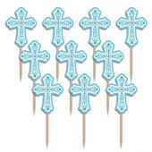 Napichovátka křížek modré