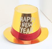 New Year´s Glitter Top Hats