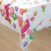 Ubrus 1.narozeniny holčička