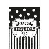 Ubrus Chalkboard Birthday