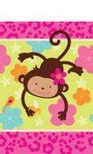 Ubrus Monkey Love