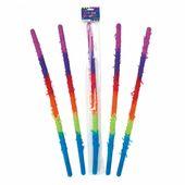 Plastová hůl na pinatu barevná