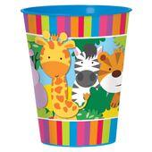 Plastový kelímek Jungle Animals