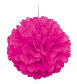 Závěsná koule neonová růžová