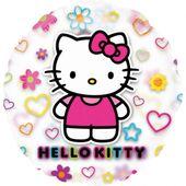 Průsvitný balónek Hello Kitty