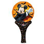 Ruční fóliový balónek Mickey Dracula Halloween