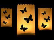 Sáčky na svíčky motýlky - velké