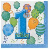 Ubrousky 1.narozeniny chlapeček
