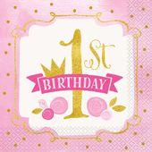 Ubrousky 1. narozeniny Princess