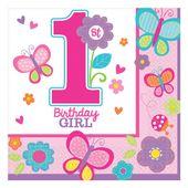 Ubrousky 1.narozeniny B-day Girl