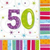 "Ubrousky Radiant Birthday ""50"""