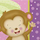 Ubrousky baby girl Monkey