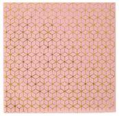 Ubrousky Cement Tile růžově zlatý