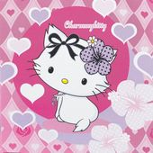 Ubrousky Charmmy Kitty hearts