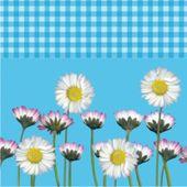 Ubrousky Daisy modré