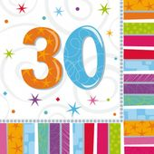 "Ubrousky Radiant Birthday ""30"""