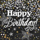 Ubrousky Glittering Birthday