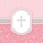 Ubrousky křížek růžové