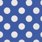 Ubrousky modré tečky