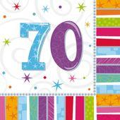 "Ubrousky Radiant Birthday ""70"""