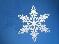 Sněhová vločka 13cm