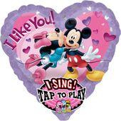 Zpívajíci balónek Mickey a Minnie