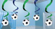 Spirálová závěsná dekorace Football