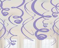 Závěsné spirály levandulové