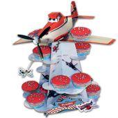 Stojan na košíčky a muffiny Letadla
