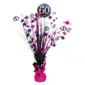 """Stolní dekorace """"60"""" Pink Diamonds"""