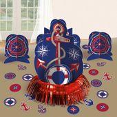 Stolní dekorace set námořnická party