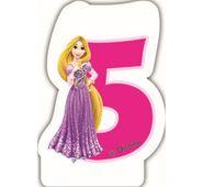 Svíčka 5 Disney Princezny