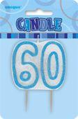 Svíčka 60 modrá