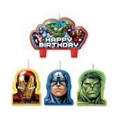 Svíčky Avengers