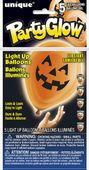 Svítící LED balónky Halloweenska dýně