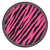 Talíř Pink Zebra