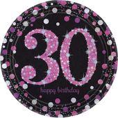 """Talíř """"30"""" Pink Diamonds"""