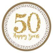 Talíř 50 Happy Years