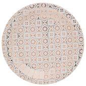 Talíř Cement Tile růžově zlatý