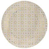 Talíř Cement Tile zlatý